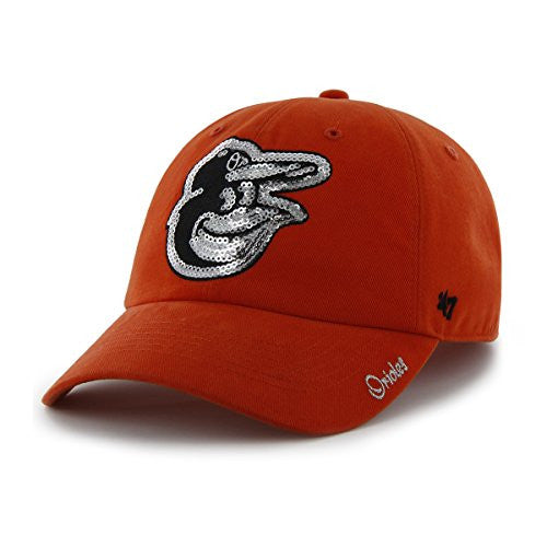 MLB Women's Sparkle Clean Up Hat