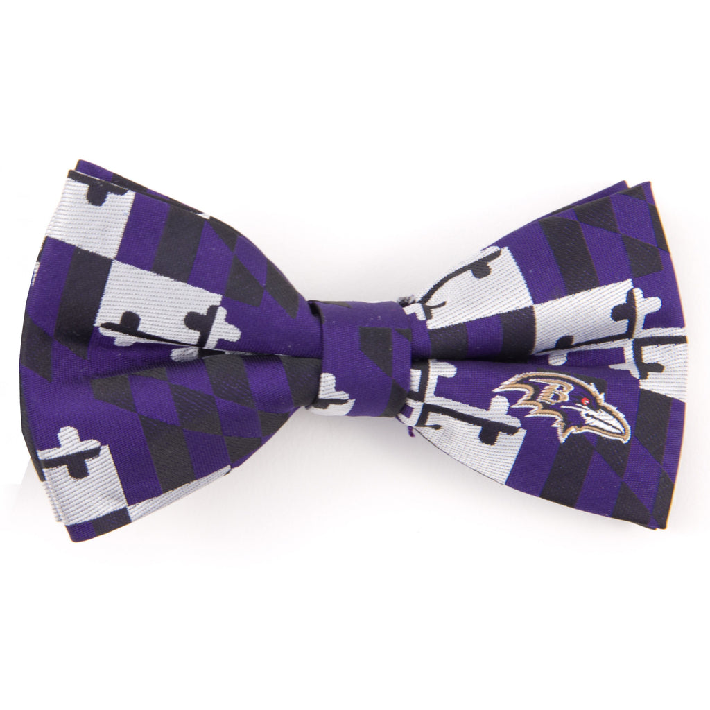 Baltimore Ravens Polyester NFL Football Bow Tie