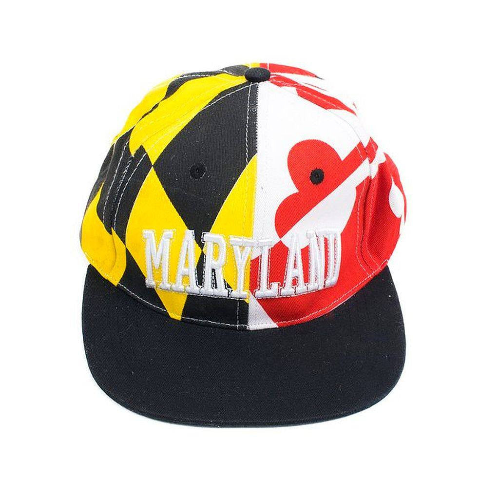 Maryland State Flag Baseball Hat Cap