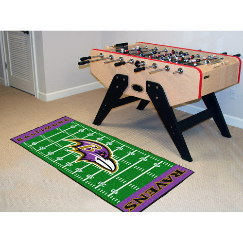 FANMATS NFL - Baltimore Ravens Football Field Runner