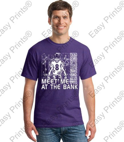 Meet Me At The Bank Lamar Jackson T-Shirt