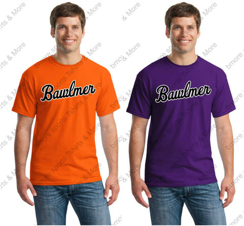 Baltimore Orioles Bawlmer Orange Tshirt