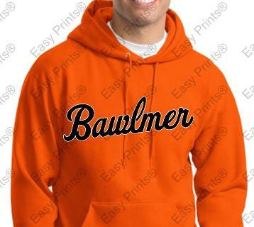 Bawlmer Orioles Orange Hoody