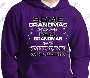 Some Grandmas Ravens Purple Hoody