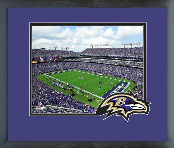 Baltimore Ravens Stadium Photo Framed 11X14
