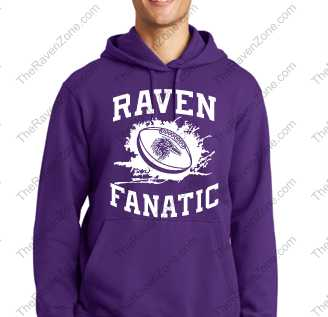 Ravens Fanatic Purple Hoody