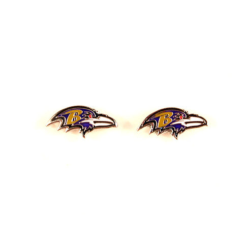 Baltimore Ravens Earrings - Stud Gold
