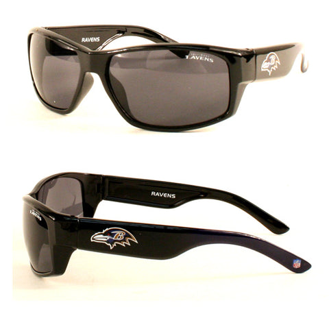 Baltimore Ravens Sunglasses - Chollo Fade Style