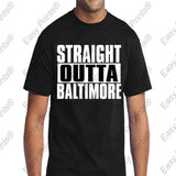 Straight Outta Baltimore Maryland Black Gear