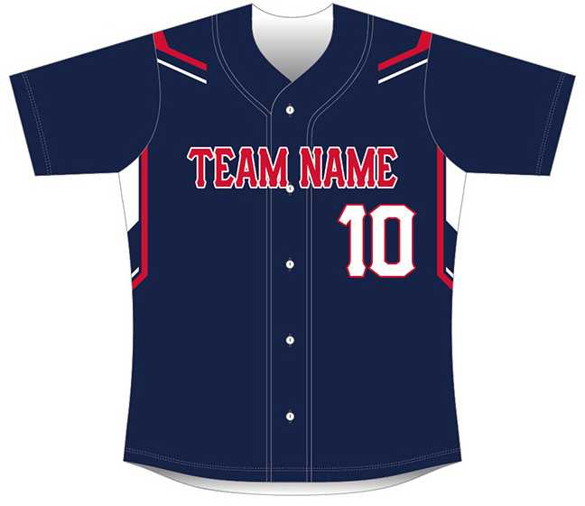 Sublimated Baseball/Softball Jersey #6