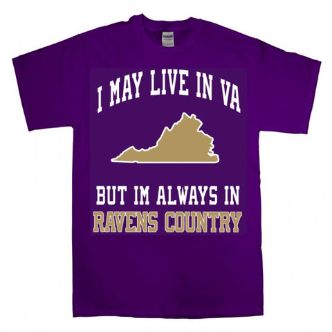 Im A Virginia Baltimore Ravens Fan Gear