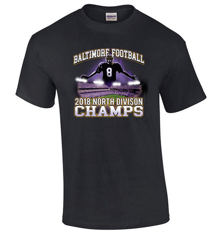 Ravens North Champs Tshirt Purple Or Black