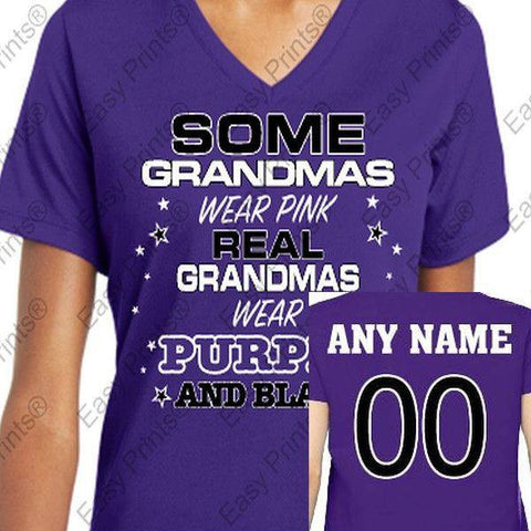 Custom Some Grandmas Ravens Ladies T-Shirt