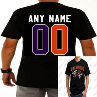 Custom Baltimore Maryland Ravens Orioles Crab T-Shirt