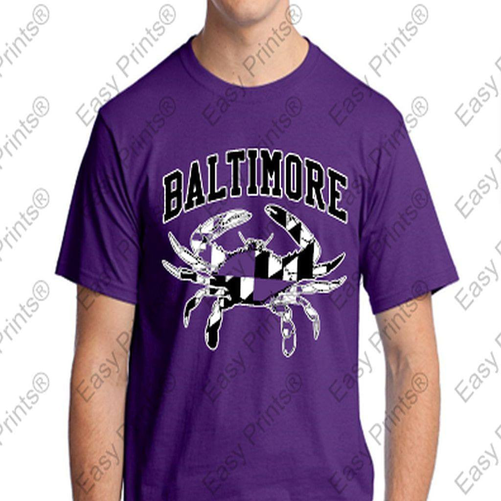 Baltimore Maryland Purple Crab T-Shirt