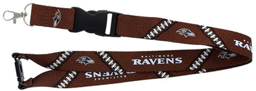 Baltimore Ravens NFL Football Laces Lanyard