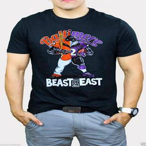 Beast of The East Baltimore Ravens Orioles Black Gear