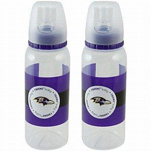 Baltimore Ravens 2 Pack Baby Bottles