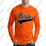 Baltimore Birds Baseball Script Orioles Gear