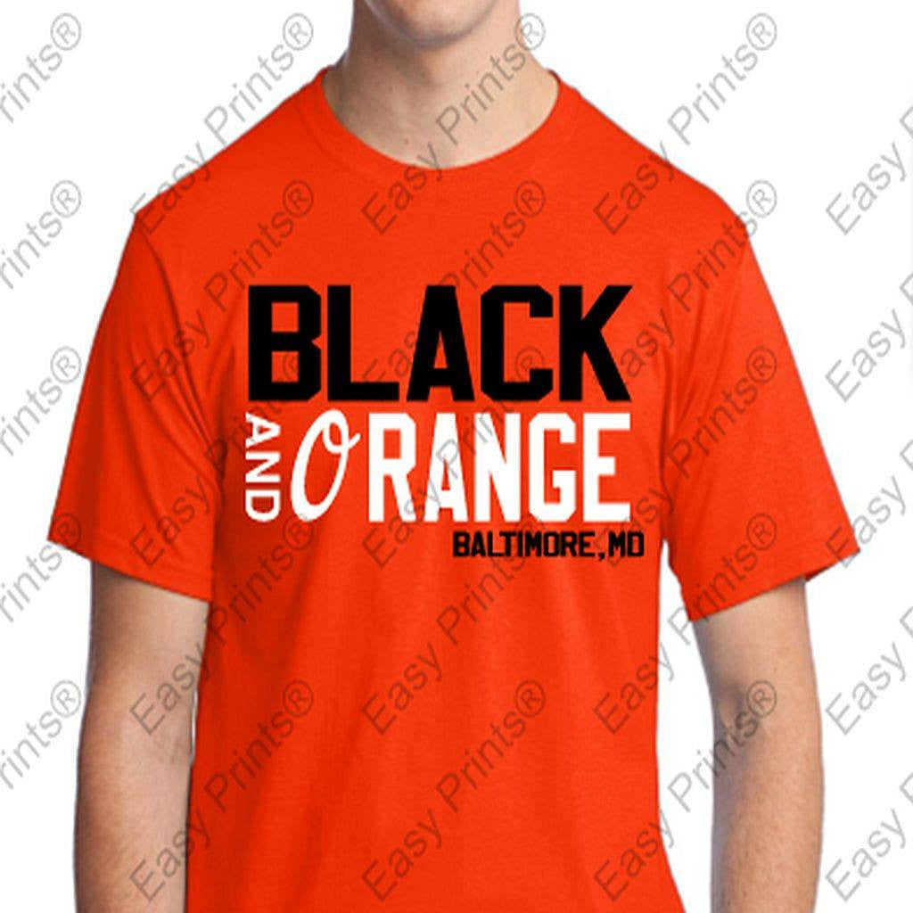 Black and Orange Orioles Baltimore Md Gear