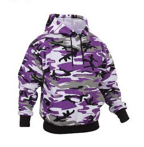 Baltimore Ravens Camo Pullover Hooded Sweatshirt