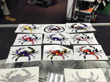 Maryland Crab Vinyl Decals Stickers Many Colors Orioles Ravens Colors Also
