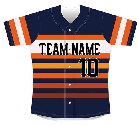 Sublimated Baseball/Softball Jersey #1