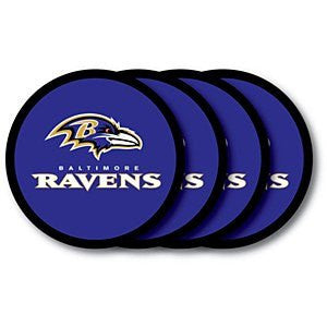 Baltimore Ravens 4 Pack Coasters