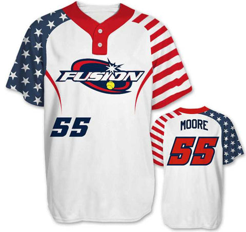Sublimated Baseball/Softball Jersey #4