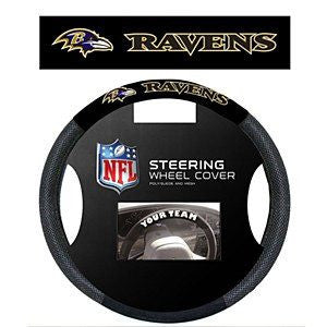 Baltimore Ravens Mesh Steering Wheel Cover