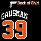 Ladies V Gausman 39 Baltimore My Blood Type is O Positive Orioles T-shirt