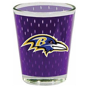 Baltimore Ravens Jersey Shot Glass