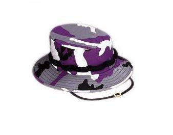 Baltimore Ravens Ultra Violet Purple Camo Jungle Hat
