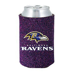Baltimore Ravens Glitter Can Kaddy