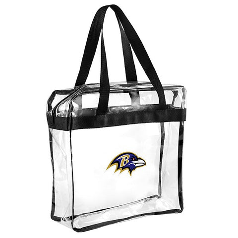 Baltimore Ravens Clear Messenger Bag