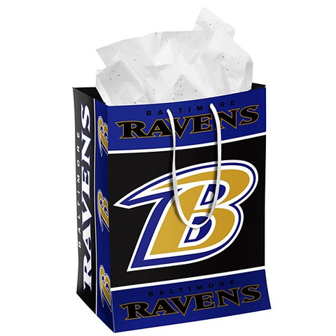 Baltimore Ravens Medium Gift Bag