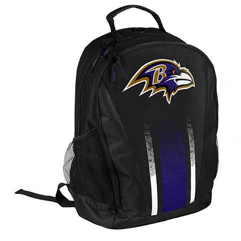 Baltimore Ravens Primetime Stripe Backpack