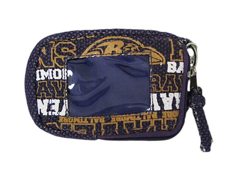 Baltimore Ravens Wordmark ID Case Bag