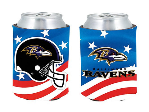 Baltimore Ravens Patriotic Pocket Coolie