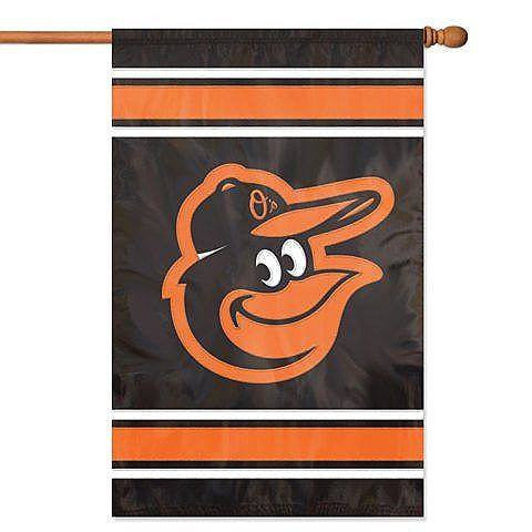 "Baltimore Orioles 44"" x 28"" Double Sided House Flag"