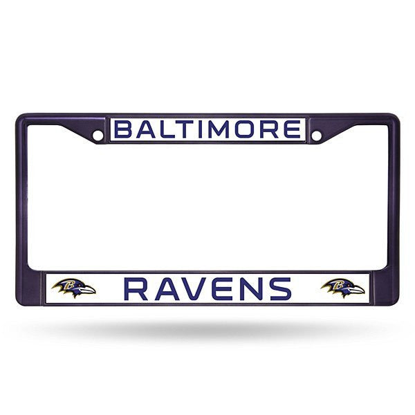 Baltimore Ravens Colored Chrome Frame