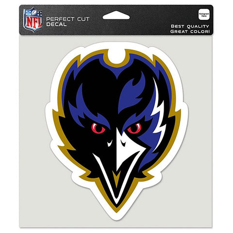 "Baltimore Ravens 8"" x 8"" Front Bird Decal"