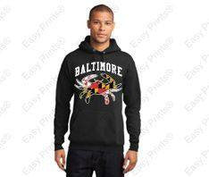 Baltimore Maryland Crab Black Gear