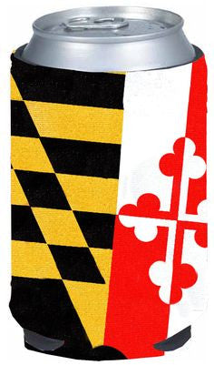 Maryland Flag Can Koozie
