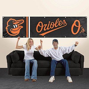 Baltimore Orioles Weather Resistant Team Banner Flag