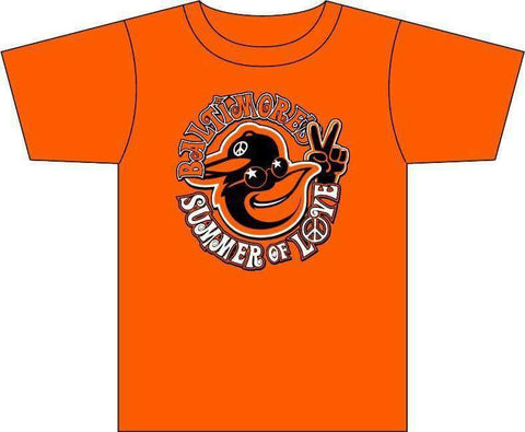 Baltimore Summer of Love Orioles Tshirt