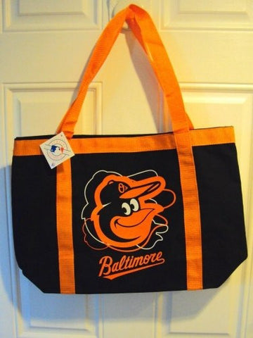 Baltimore Orioles MLB Large Canvas Tailgate Tote Bag