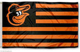 Baltimore Orioles Stars and Stripes Nation Flag