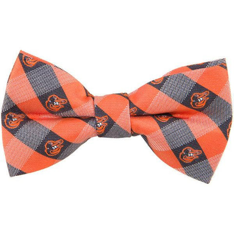 Baltimore Orioles Check Bow Tie