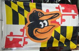 Maryland State 3x5 Foot Flag Orioles